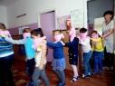 Выездное занятие в детском саду №40 «Росинка» ст.Анапской с малышами подготовительной группы о пожарной безопасности