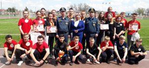 соревнования по пожарно-прикладному спорту в ст.Полтавской